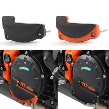 цена на 2Pcs Left Right Engine Stator Cover Protective Case Slider Guard Protector For KTM 1290 Super Duke R GT RC8 R