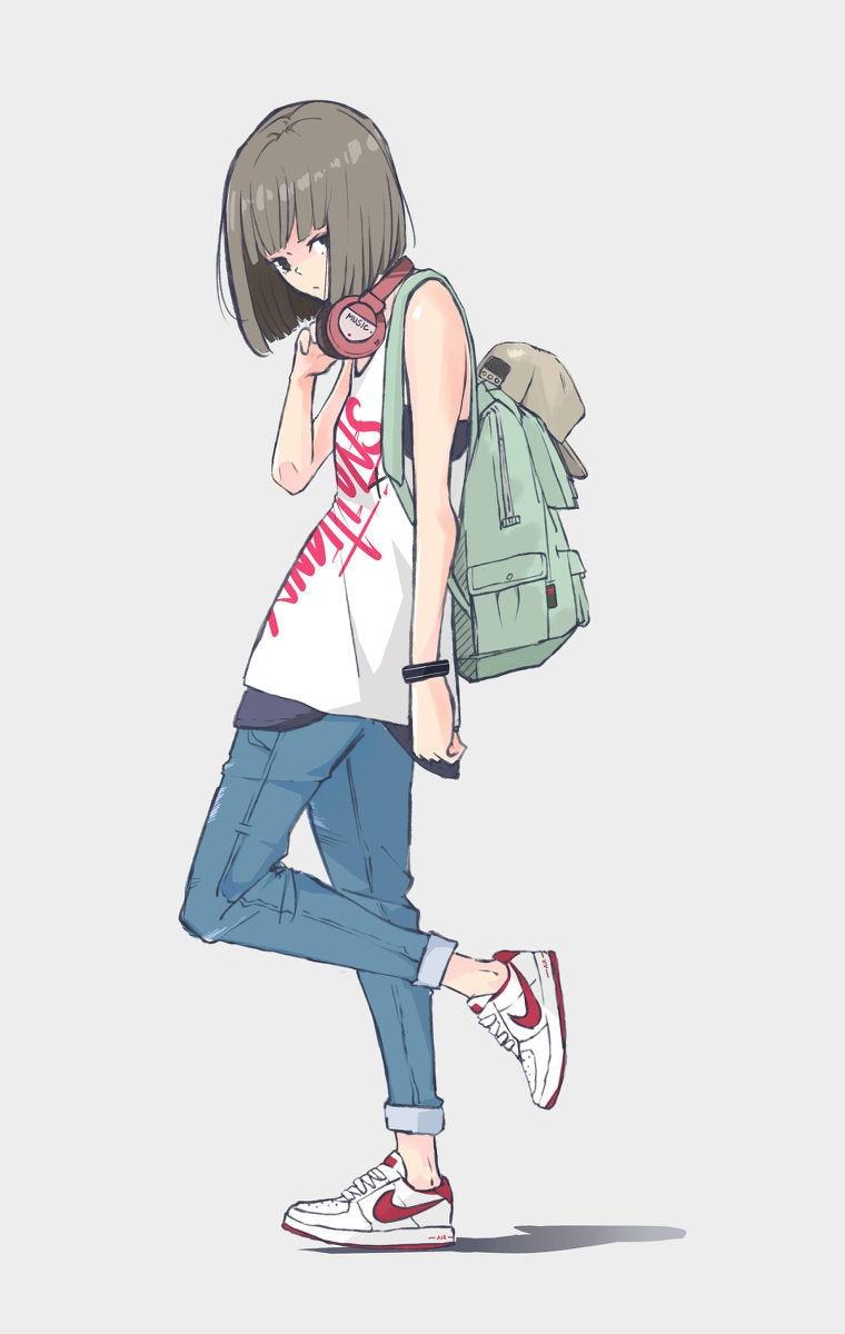 【P站美图】小露香肩!无袖服装特辑