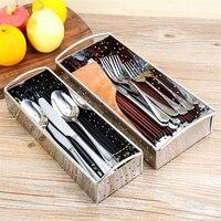 Utensílios de cozinha caixa de armazenamento chopstick colher balde faca garfo louça titular rack dreno acessórios da cozinha Garrafas  frascos e caixas     -