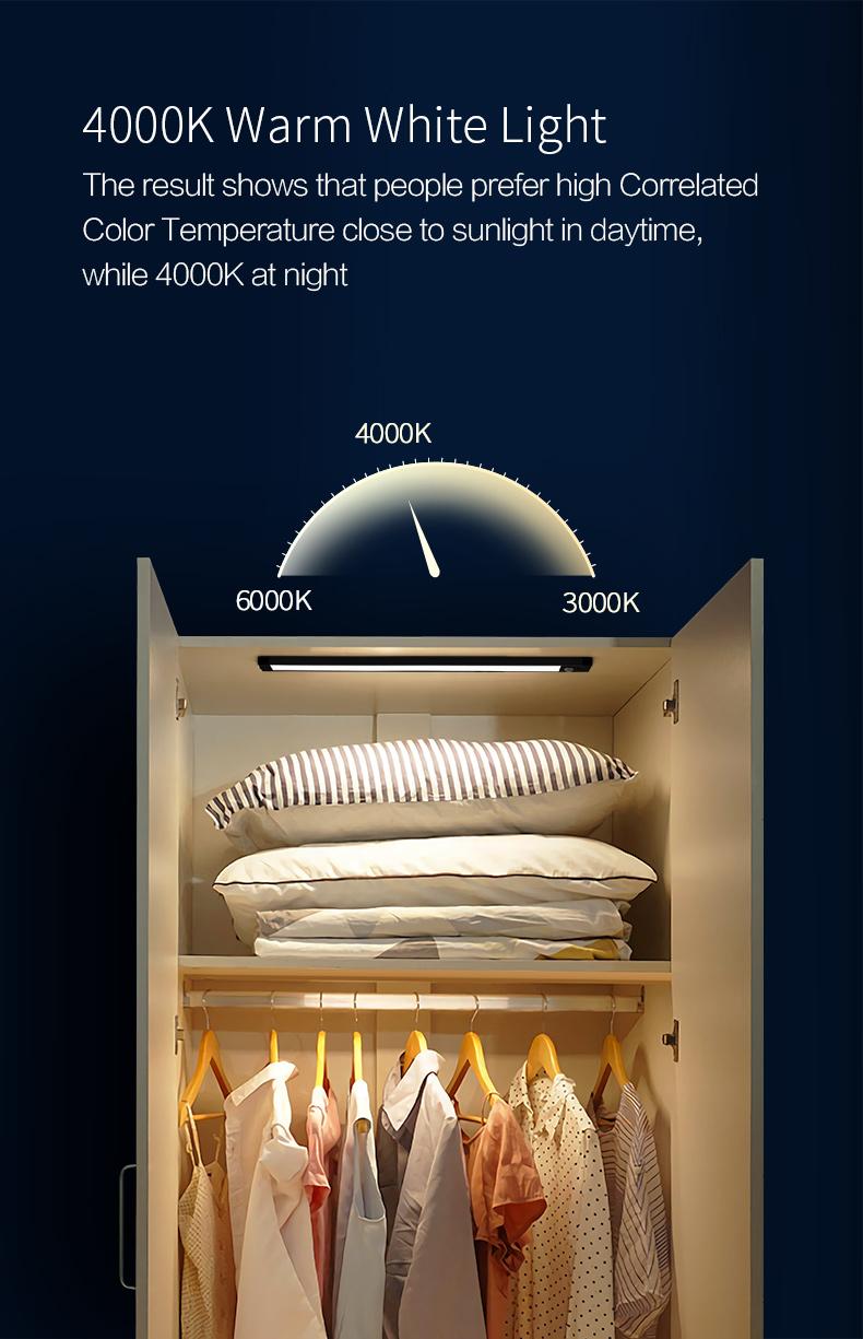 Huizuo Intelligent Sensor Cabinet Night Light 7