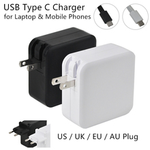 USB Type C Laptop Charger 5V 3A 9V 3A 12V 3A 15V 3A 20V 3.25A 65W for Apple MacBook Air iPad Samsung ASUS Acer Tables 4 Plug