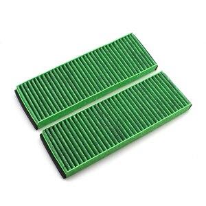 Image 3 - Für AUDI A6 C6 R8 A4 B8 2004 2015 Auto Kabine Filter carbon luftfilter klimaanlage Filter 4F0898438A 4F 0 819 439 EIN