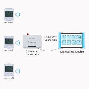 Image 2 - 433mhz lora sans fil température et humidité capteur transmetteur 868 température et humidité mètre LCD affichage Ultra faible puissance
