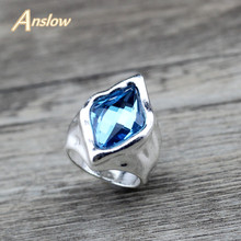 Anslow Wholesale Vintage Classic Retro Ring For Women Party Exaggerated Finger Wedding Rings Female Best Friend Mother LOW0040AR
