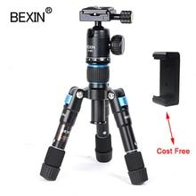 Support de caméra mini trépied trépied montage flexible voyage trépied support de téléphone portable pour la caméra dslr pnone sur la table avec 1/4