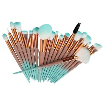20Pcs Foundation Powder Blush Diamond Makeup Brush Set Blending Eye Shadow Lip Cosmetic Make Up Beauty Brush Pincel Maquiagem 1