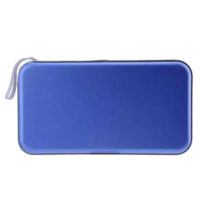 80 דיסק לשאת תיבת בעל חבילה רכב אחסון תיק מקרה כחול נייד 80pcs קיבולת דיסק CD DVD ארנק אחסון ארגונית מקרה