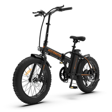 Bicycle Electric-Bike Lithium-Battery City-Beach-Cruiser Folding Fat-Tire AOSTIRMOTOR