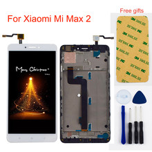 For Xiaomi Mi Max 2 Max2 LCD Display Panel Module + Touch Screen Digitizer Sensor Assembly With Frame(China)