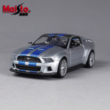 Maisto 1:24 2010 Ford Mustang Roadster simulation alloy car model simulation car decoration collection gift toy стоимость