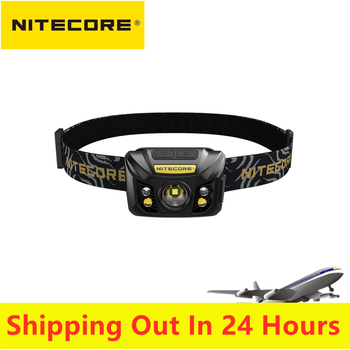Original NITECORE NU32 Headlamp 550 Lumens CREE XP-G3 S3 LED Built In Rechargeable Battery Light Outdoor Light original nitecore br35 bike light 1800 lumens cree xm l2 u2 led rechargeable bike bicycle front light built in 6800mah battery