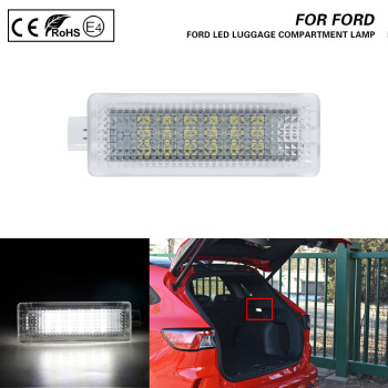 1Pcs LED Luggage Compartment Lamp for Ford Escape Fusion Mustang Focus C-Max Transit Connect