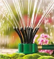 360 Degree Rotating Sprinkler Noodle Head Water Sprinkler Garden Watering Sprinkler for Garden Irrigation Roof Cooling