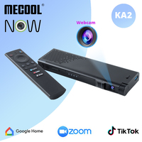 Mecool Online Meeting KA2 NOW Android 10.0 TV Box con microfono per videocamera HD 1080P 2 16G 4 64G Smart Media Player per televisione