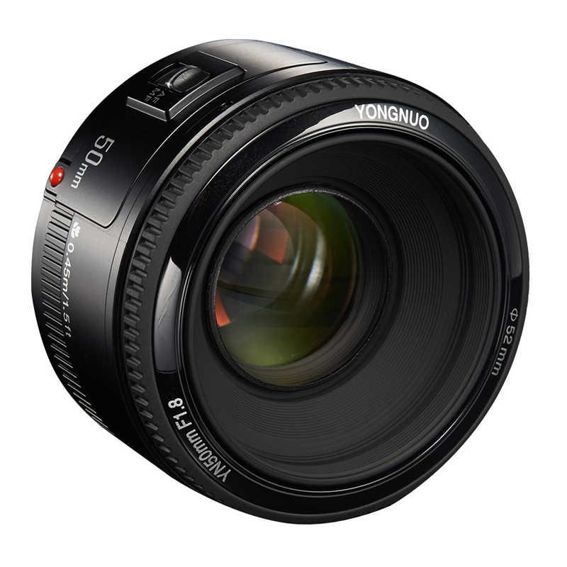 Ống Kính YONGNUO YN50mm F1.8 YN EF 50mm f/1.8 Ống Kính AF YN50 Khẩu Độ Tự Động Lấy Nét Ống Kính cho Máy Canon EOS 60D 70D 5D2 5D3 600D MÁY Ảnh DSLR