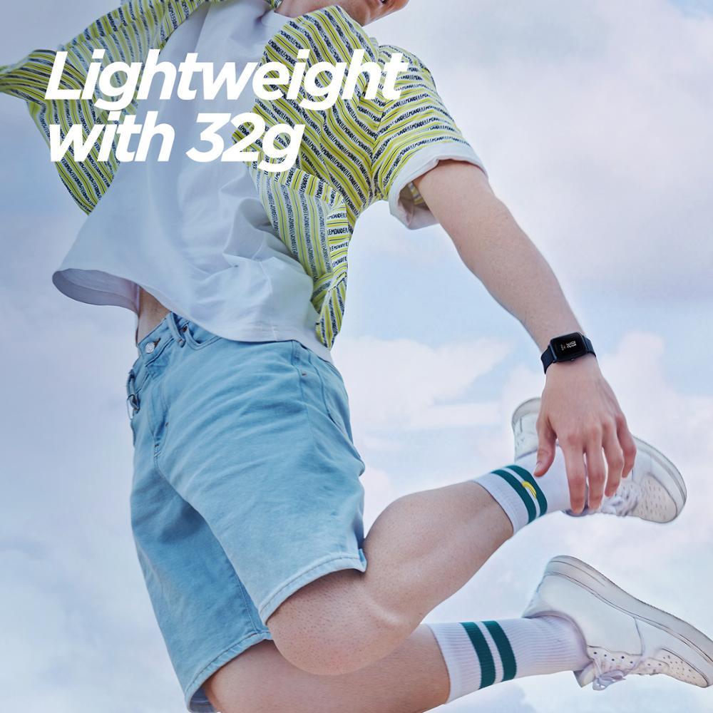 En Stock Version mondiale Amazfit Bip Lite montre intelligente 45 jours d'autonomie 3ATM montre intelligente étanche pour Xiaomi New 2019 - 6