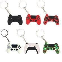 Machine de jeu porte-clés & porte-clés mignon Gamepad copain Joystick porte-clés PS4 Console de jeu porte-clés sac voiture suspendus porte-clés