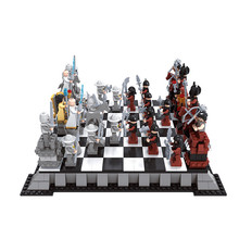 AUSINI 27907 1142 шт. международные Шахматные строительные блоки кирпичи детские игрушки для детей Bringuedos Legoings Friends замок серии