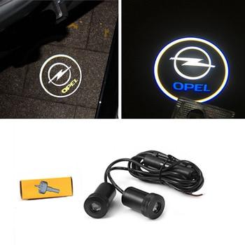 2X Laser Logo Projector LED Car Door Light For Opel Astra H G J Corsa D C B Zafira Vectra C Mokka Vectra Omega Vivaro Omega фото