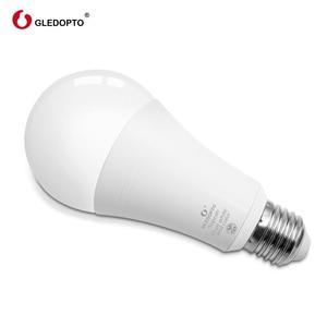 Image 5 - Gledopto الأبيض واللون E27 12 واط LED مصباح ذكي 2 Pack ، زيجبي متوافق 3.0 بوابة ، صوت المنشط مع اليكسا ، 6 منطقة عن بعد