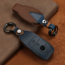 Car Key Fob Case Cover protector Suitable For Mercedes Benz E C Class W204 W205 W212 W213 W176 W222 GLC Car styling Accessories