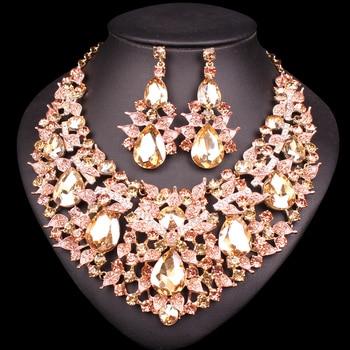 Luxury Leaves Jewelry Set 2