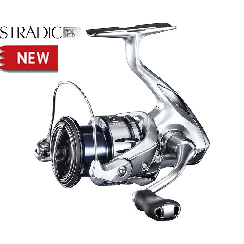 2019 nuevo SHIMANO STRADIC FL 2500 2500HG C3000 C3000HG cuerpo HAGANE carrete largo 6 + 1BB pesca giratoria agua salada rollo