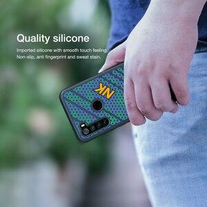 Image 3 - Redmi Note 8 Case NILLKINซิลิโคนเรียบกันกระแทกปกหลังPCสำหรับXiaomi Redmi Note8 Note 8 Pro