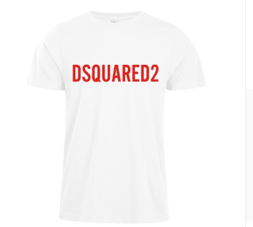 DSquared2 European And American-Style English With Numbers Lettered Street Short Sleeved