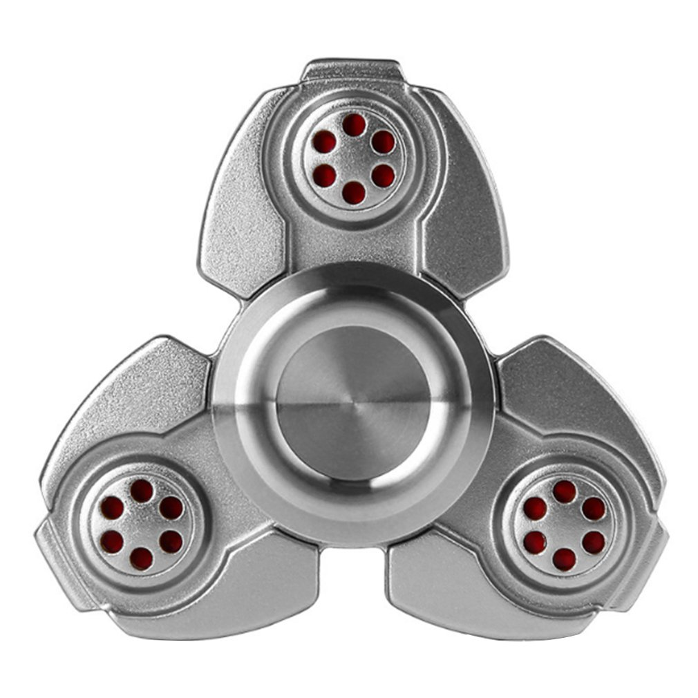Zinc Alloy Hand Spinner Clover Fingertips Spinner Toys High Speed Fingertip Autism Recovery Decompression Toy