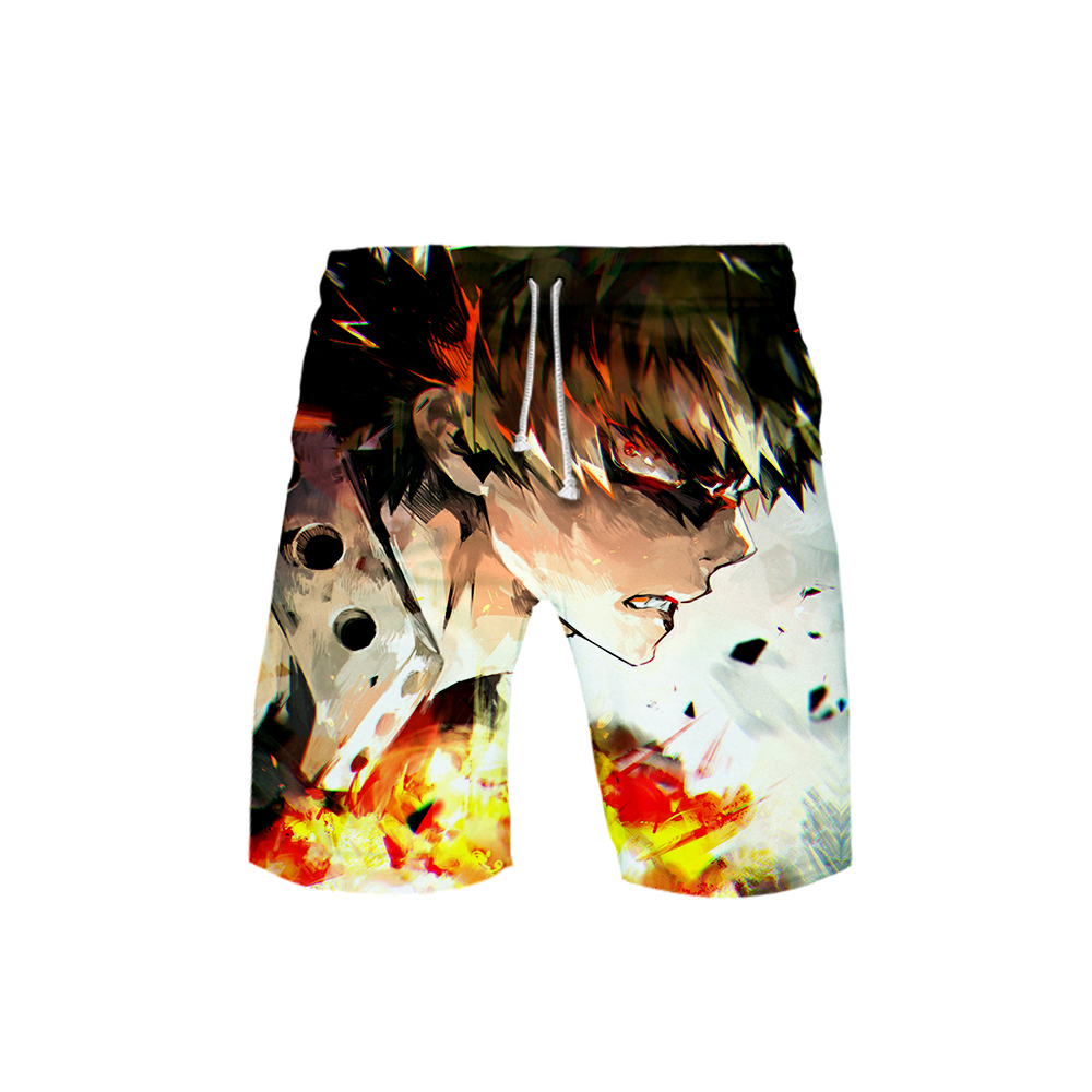 3D MY HERO ACADEMIA Swimwear Swim Shorts Trunks Beach Board Shorts Swimming Pants Swimsuits Mens Running Sports Surffing Shorts