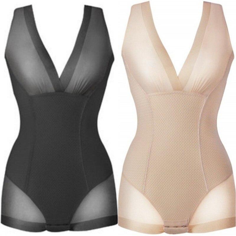 Firm Tummy Control Full Dress Slip Body Shaper Underbust Black// beige S M L XL