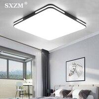 Moderna iluminação de teto led estilo simples luminárias para estudo sala jantar quarto sala estar varanda 24 w lâmpada do teto|Luzes de teto| |  -