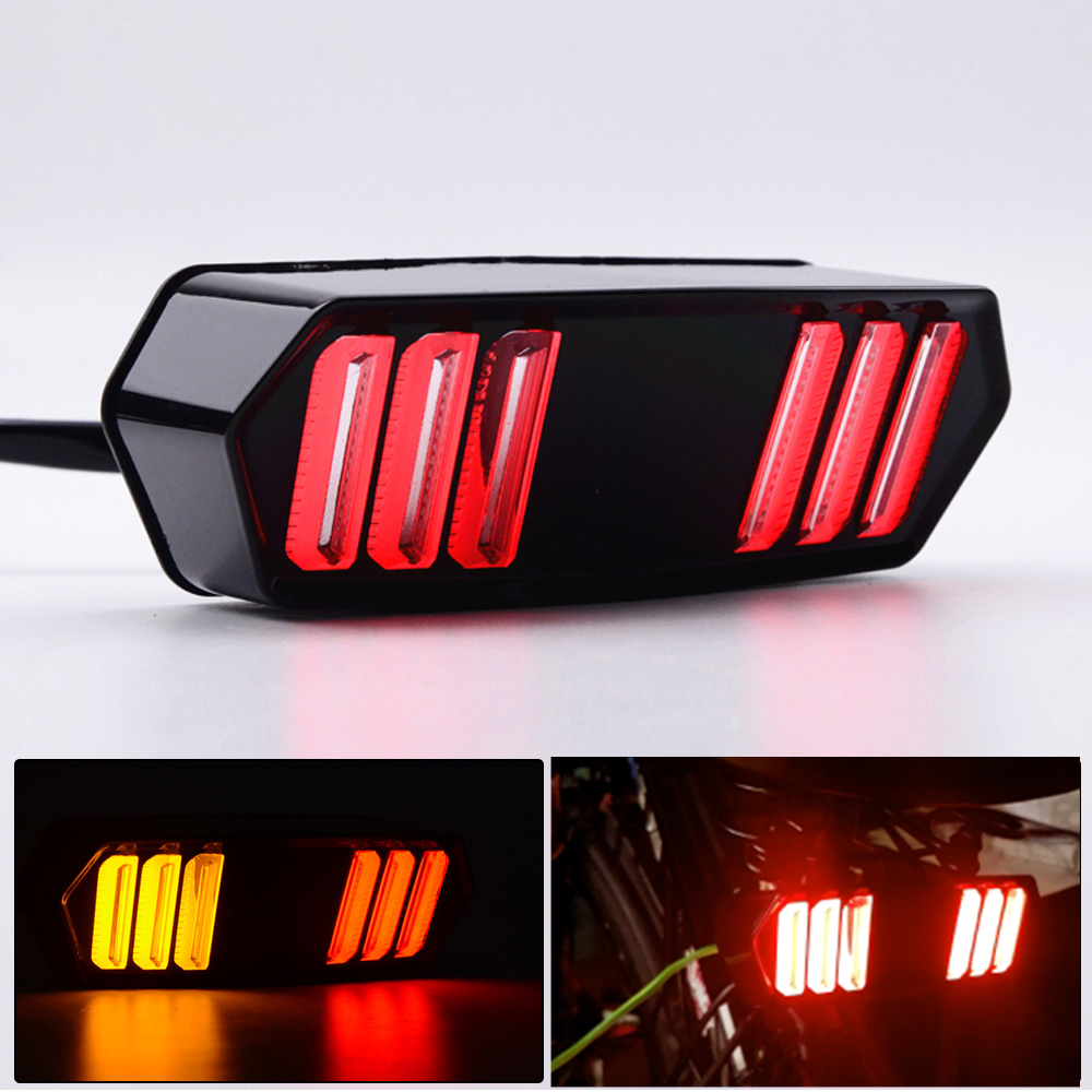 for Honda MSX125 CBR650F CTX700 CTX700N Motorcycle LED Tail Light Running Stop Brake Rear Warning Turn Signal Indicator Lamp
