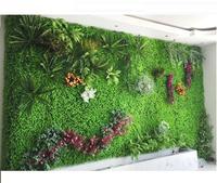 New Artificial Plant Wall Eucalyptus Wall Plant Vertical Garden Fake Wall Shop Sign Image Wall Home Decor