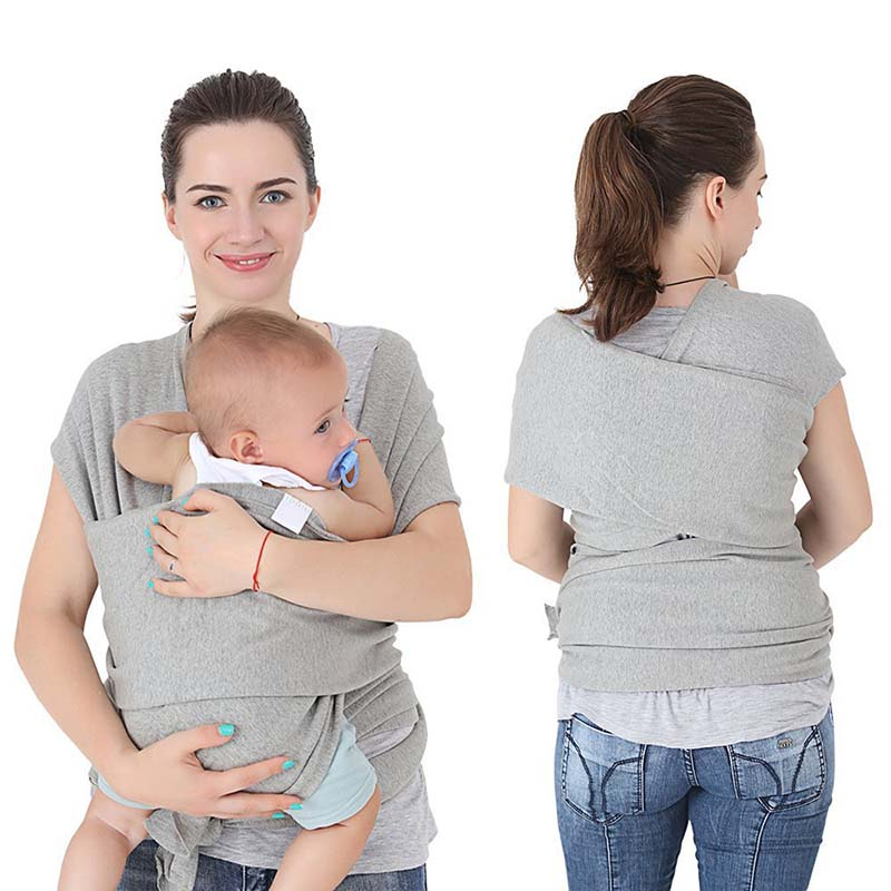 0-36M Ergonomic Baby Carrier Infant Front Facing Kangaroo Baby Sling Wrap Cotton Newborns Carrier Cover For Mom Travel Hipseat