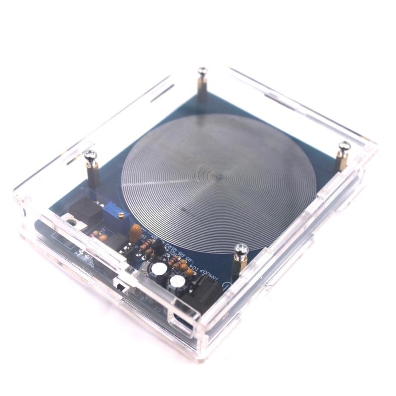 Резонансный ультра-Низкочастотный генератор импульсной волны Шуманна постоянного тока 5 В 7,83 Гц, аудио резонатор с коробкой