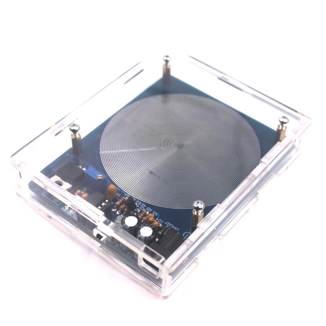 DC 5V 7.83HZ Schumann Resonance Ultra low Frequency Pulse wave Generator Audio Resonator With Box