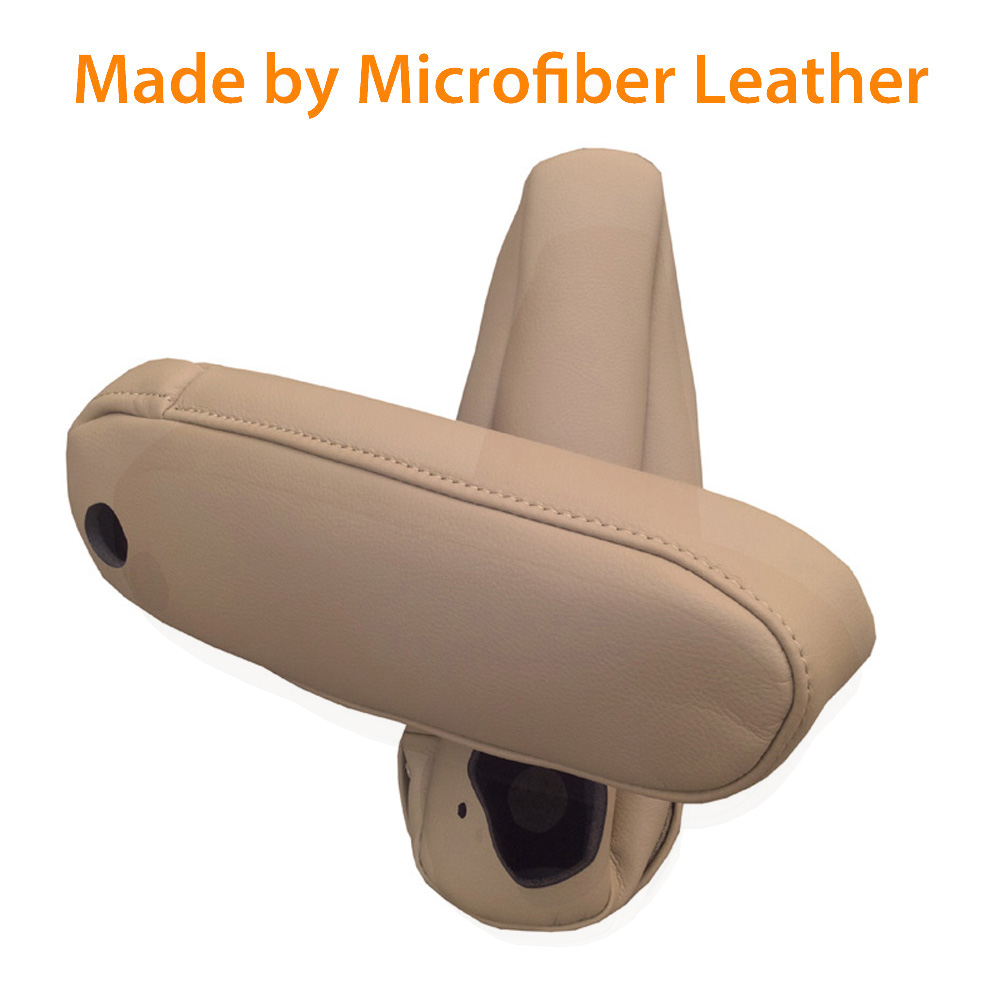 RX350 Beige RX330 Seat Armrest Covers Synthetic Leather For 03-09 Lexus RX300