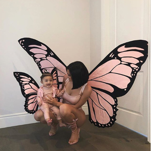 Hot Sale Halloween Cosplay Butterfly Wing Fairy Costumes For Adult Kids
