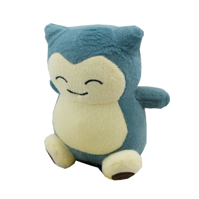 Hot 15cm Plush Toys Snorlax Plush Cute Soft Stuffed Animal Toy Figure Collectible Doll Children Christmas Gift
