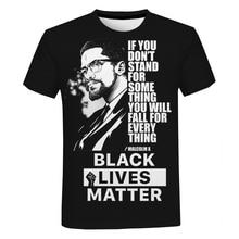 Black Lives Matter T Shirts Fashion Men and Women T-shirt Short Sleeve Unisex I Can't Breathe George Floyd Tshirt Streetwear