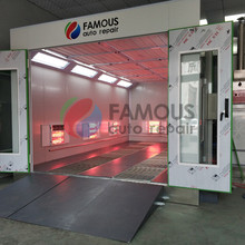 spray paint room FMS8000 spray painting booth price for car