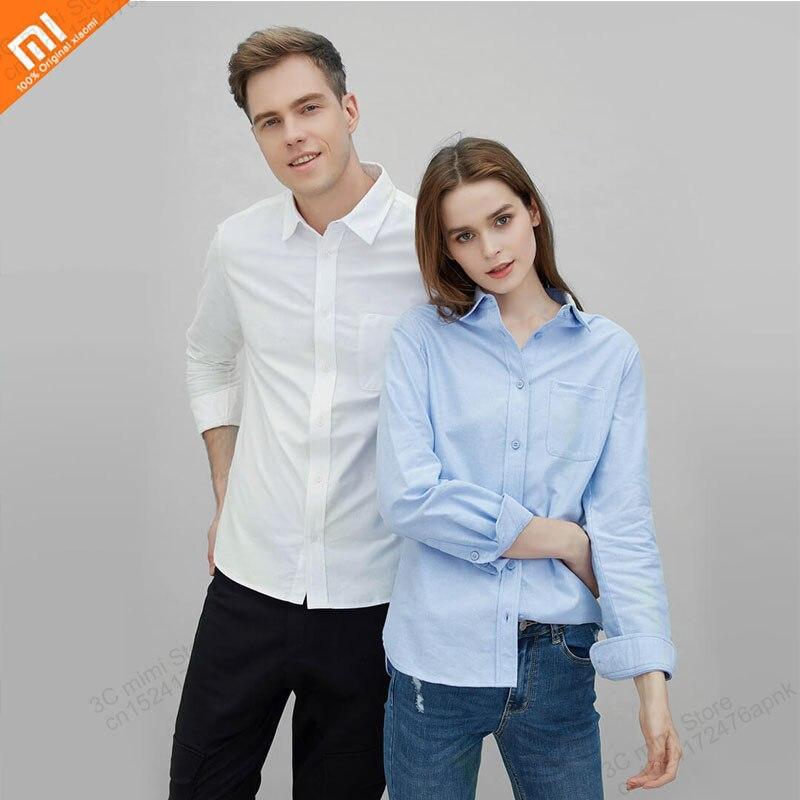 Xiaomi youpin classique couleur unie flanelle coton décontracté flanelle sauvage couple modèles confortable peau intelligente maison