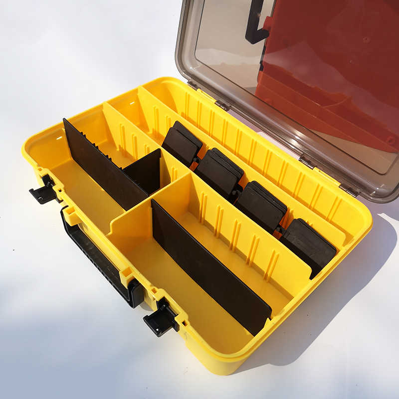 Large-capacity Fishing Tackle Box Storage Gear Bait Portable Sub-bait