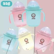 AAG Baby Bottle Cup Portable Cartoon Feeding Drinker Sippy Infant Nursing Training Children Water