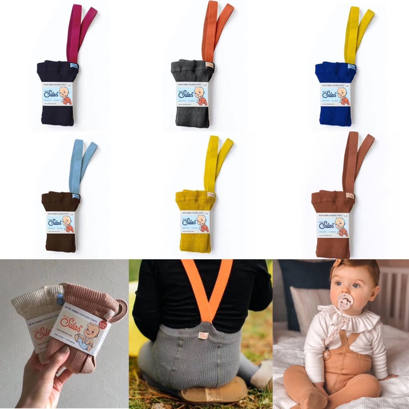 Newborn Baby Winter Tights Luxurious Quality Infant Boy and Girls Keep Warm Tight With Strap silly silas Toddler Lovely Bottoms 1