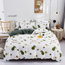 princess avocado bedding set white full queen king size duvet cover sets bed sheets and pillowcases satin silk