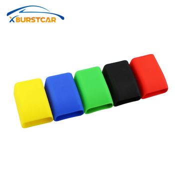 Xburstcar Rubber Car Seat Belt Clips Locking Buckles Cover for Ford Focus 2 3 4 Fiesta Ecosport Kuga Escape Mondeo Everest image