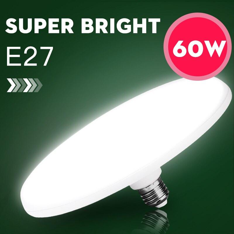 E27 LED Bulb Light 220V 15W 20W 40W 50W 60W Lampada Ampoule Bombilla Super Bright Table Lamp For Kitchen Home Indoor LightinG